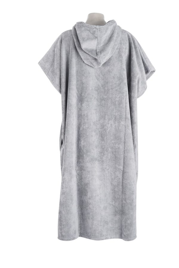 Changing Towel Cool Grey Back