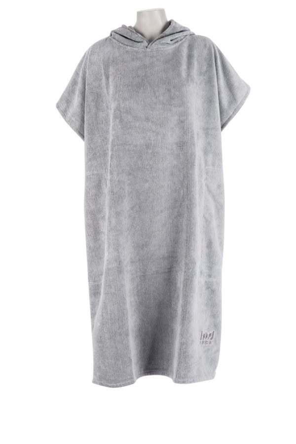 Changing Towel Cool Grey Front