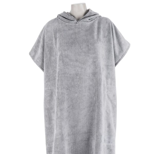 Changing Towel Cool Grey Front upper