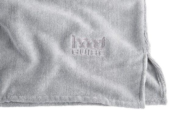 Changing Towel Cool Grey Logo