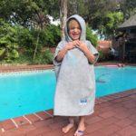 Hood Guise Changing Towel Cool Grey XS Starfish