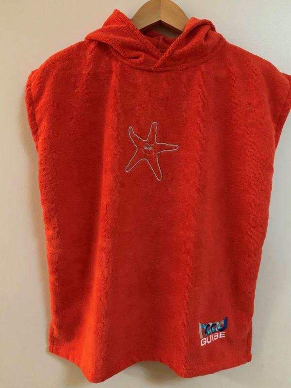 Hood Guise Changing Towels Sunset Orange XS Starfish